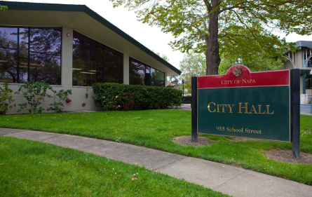City hall in Napa County, CA