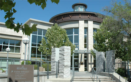 City hall in Placer County, CA
